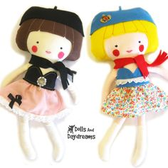Dolls And Daydreams / Dress Up Doll Sewing Pattern