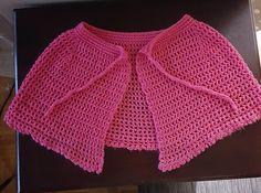 Ravelry: Shoulder shawl pattern by Terri Brown Crochet Dress Girl, Crochet Cape, Crochet Clothes, Free Crochet, Knit Crochet, Chrochet, Crochet Waffle Stitch, Cape Pattern, Crochet Shawls And Wraps