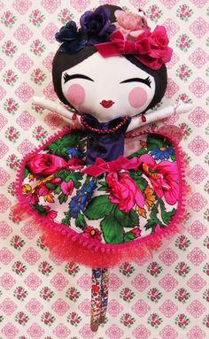 Frida Doll by Little Smile Dolls