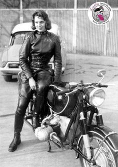 #Motocicliste: Anke Eve Golman