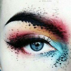 "Chernyak History of eye makeup ""Eye care"", quite simply, ""eye make-up"" has always been a Eye Makeup Art, Eye Art, Makeup Inspo, Eyeshadow Makeup, Makeup Inspiration, Beauty Makeup, Fairy Makeup, Matte Eyeshadow, Mermaid Makeup"