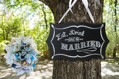 Gem's Wedding Supplies - Eat, Drink and Be Married Chalkboard Wedding Decoration Sign, $44.95 (http://www.gemsweddingsupplies.com.au/eat-drink-and-be-married-chalkboard-wedding-decoration-sign/)
