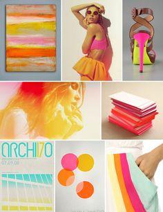 color me bad! Neon Colors, Basic Colors, Colours, Summer Colors, Colour Schemes, Color Combos, Color Palettes, Hue Color, Color Pop