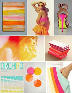 Piqued my Pinterest: Hot Hues