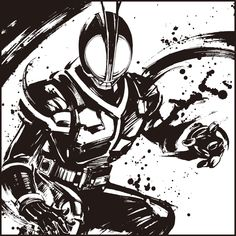 Kamen Rider Faiz, Kamen Rider Kabuto, Kamen Rider Series, Anime Cat, White Art, Power Rangers, Gundam, Geek Stuff, Darth Vader