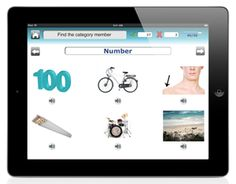 Category TherAppy - an SLP iPad app for adults with aphasia or children with autism