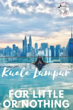 Kuala Lumpur For Little or Nothing Check out www . Malaysia Travel, Asia Travel, Travel Usa, Kuala Lumpur, Burma, Thailand, Travel Guides, Travel Advice, Travel Destinations