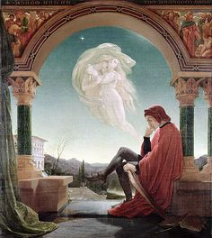 Dante's Dream, from the 'Divine Comedy' undated - Sir Joseph Noel Paton Dante Alighieri, Classic Paintings, The Secret History, Pre Raphaelite, Catholic Art, Art Themes, Italian Art, Poster Prints, Art Prints