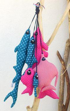 Handmade Fish Toys by Les Curiosités de Fred
