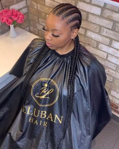 Braided Cornrow Hairstyles, Cornrow Braid Styles, Big Box Braids Hairstyles, Black Girl Braided Hairstyles, African Braids Hairstyles, Girl Hairstyles, Cornrows Braids For Black Women, Black Girl Braids, Braids For Black Hair