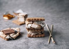 Couldn't let #nationalsmoresday pass by without a shot of our s'mores - it's one of our all time best sellers. #smallbatch #madeinbrooklyn