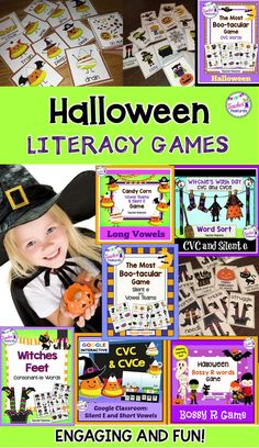 Looking to cast a phonics spell on your students? Get loads of fun Halloween Literacy activities and games for K-3!