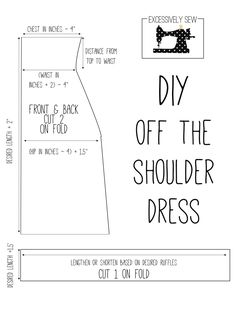 DIY Off the shoulder dress. OTS dress. Sewing tutorial. OOTD. Free Sewing Pattern. Sewing Blog. Blogger. Excessively Sew.