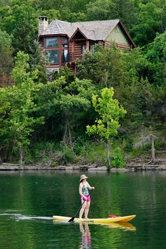 Located deep within the Ozark Mountains, Big Cedar Lodge a world-class resort that offers an escape into the immersive relaxation of the great outdoors. Offshore Wind, Standup Paddle Board, Sup Surf, Learn To Surf, All Nature, Vacation Places, Vacations, Big Waves, Sandy Beaches