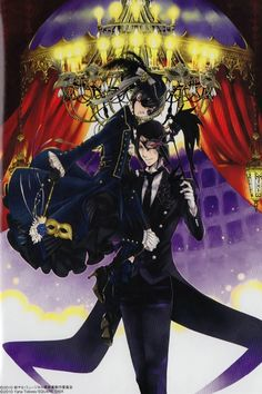 "Ciel and Sebastian | Kuroshitsuji - Black Butler #Anime #Manga ""Book of Circus"""