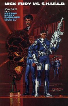 Cover for Nick Fury Vs. S.H.I.E.L.D. (1988 series) #3