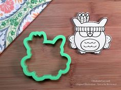Indian Owl Cookie Cutter. Owl Cookie Cutter. by KaleidaCuts