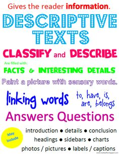 Descriptive essay structure