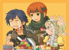 """I can imagine Gaius saying, """"Yes, eat the cake then next we will feed some to Bubbles."""""""