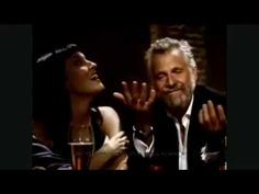 Compilation of the Dos Equis Beer Commercials - The Most Interesting Man in the World Pray 2 Heal Jeremy's Cancer Dos Equis Commercial, Jonathan Goldsmith, Beer Commercials, Better Music, Great Ads, Chuck Norris, Retro Humor, Sharp Dressed Man, Mans World