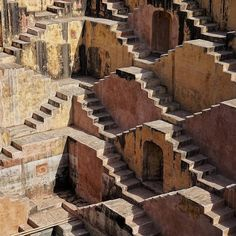 """iGNANT on Instagram: """"The Chand Baori stepwell in the Abhaneri village of Rajasthan, India shot by @chrsschlkx via @ignant_travel."""""""