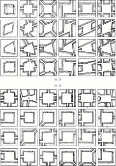 Rob Krier Morphological Series of Urban Spaces