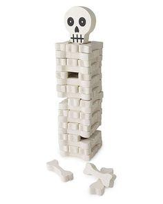 Stack the bones. The darker side of Jenga.
