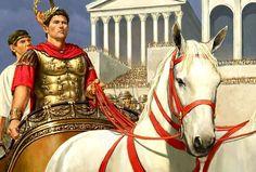 Triumph of Octavian Augustus Триумф Октавианом Августом