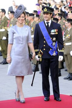 Miss Honoria Glossop:  Princess Martha Louise of Norway and Prince Carl of Sweden at the royal wedding