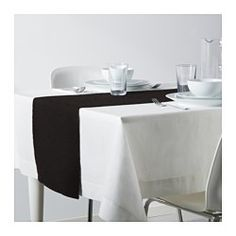 MÄRIT Table-runner, black - IKEA