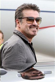 George Michael Arrives In Australia