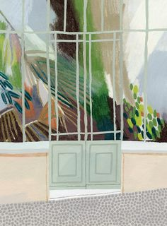 Beatrice Cerocchi art illustration plant botanical garden doot