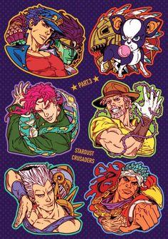 Curry ❤ ※ Permission to upload this work was granted by the artist. Jojo's Bizarre Adventure, Jojo's Adventure, Bizarre Art, Jojo Bizarre, Manga Anime, Anime Art, Jojo Stardust Crusaders, Johnny Joestar, Jojo Parts
