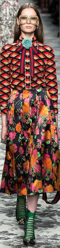 Gucci SS2016 Women's Fashion RTW | Purely Inspiration