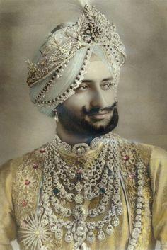 Einmalig: Kettenschmuck des Maharajah von Patiala