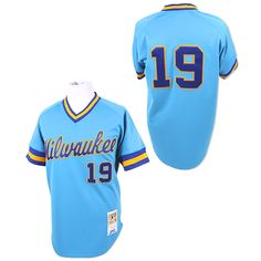 Milwaukee Brewers Authentic 1982 Robin Yount Road Jersey by Mitchell & Ness - MLB.com Shop