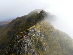 Aonach Eagach Ridge Glen Coe, Scotland