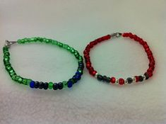 Supernatural Morse Code Friendship Bracelet by AnonymousSong