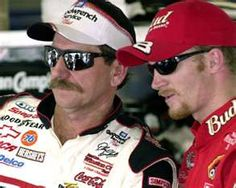 Dale Sr. and Jr.