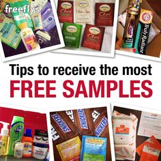 Check out some tips on how to receive the most free samples and the best ones! There are a ton Free Baby Samples, Free Samples By Mail, Free Stuff By Mail, Get Free Stuff, Free Baby Stuff, Best Money Saving Tips, Money Tips, Saving Money, Free Sample Boxes