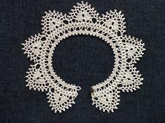レース編み*付け襟の画像4枚目