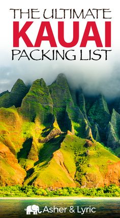 17 Top Kauai Packing List Items + What NOT to Bring Update). Kauai can be. - 17 Top Kauai Packing List Items + What NOT to Bring Update). Kauai can be tough to pack for - Best Island Vacation, Kauai Vacation, Best Places To Vacation, Hawaii Honeymoon, Kauai Hawaii, Oahu, Hawaii Life, Vacation Deals, Travel Deals