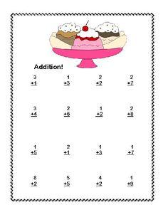 math worksheet : first grade math addition subtraction within 20 worksheets ice  : Math Worksheets For First Grade Addition And Subtraction