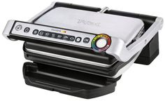 Pin for Later: 16 Foodie Gifts We Love Off of Oprah's Favorite Things 2015 Under $200: T-fal GC702D OptiGrill Stainless Steel Indoor Electric Grill