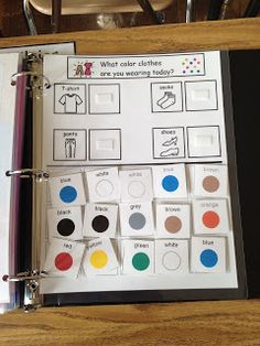 The Autism Tank: Morning Work Binders