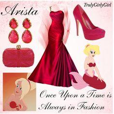 Disney Style: Arista, created by trulygirlygirl Disney Prom Dresses, Disney Princess Outfits, Disney Dress Up, Disney Themed Outfits, Disney Clothes, Casual Cosplay, Cosplay Outfits, Disney Mode, Disney Bound
