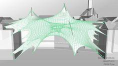 bionics institute _ arch project 2014 on Vimeo Membrane Structure, Parametric Design, Architecture Design, Projects, Architecture Layout, Architecture Illustrations, Architecture, Tile Projects