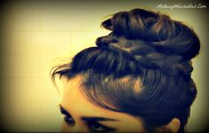 Up-side Down, Lace French Braid Bun Hairstyles | Hair Tutorial Video