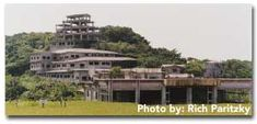 Okinawa The Haunted Hotel!  Most fun to explore.....