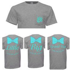 Big little shirts Gamma Sigma Sigma, Delta Phi Epsilon, Alpha Omicron Pi, Kappa Kappa Gamma, Alpha Chi Omega, Alpha Sigma Alpha, Kappa Delta, Tri Delta, Big Little Sorority Shirts